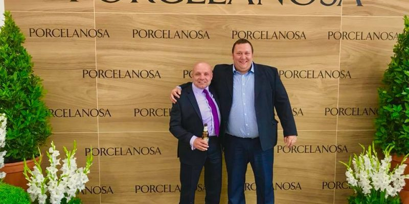 MTL at the prestigious opening of Porcelanosa